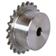 06B1 sprockets with hub, stainless steel