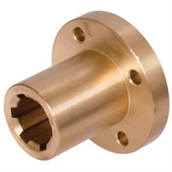 Nuutpuksid flantsiga DIN ISO 14, pronks (CuSn7Zn4Pb7-C)