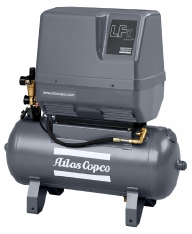 Atlas Copco õlivabad-kolbkompressorid