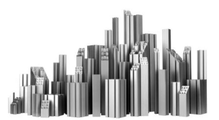 MiniTec aluminium profiles