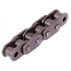 Roller chains with straight plates
