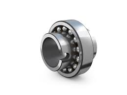 Self-aligning ball bearings with extended inner ring