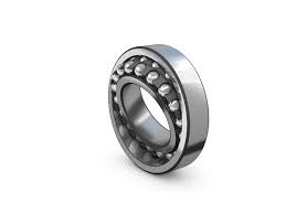 Self-aligning ball bearings with tapered bore
