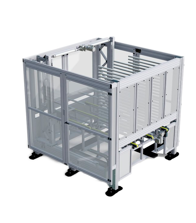Safety barriers and machine frames