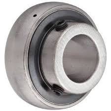 Y-bearings with grub screws, metric shafts