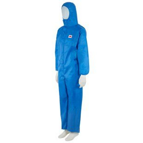 GT700059014, 3M™ Protective Coverall, Blue, 4532+ B-L