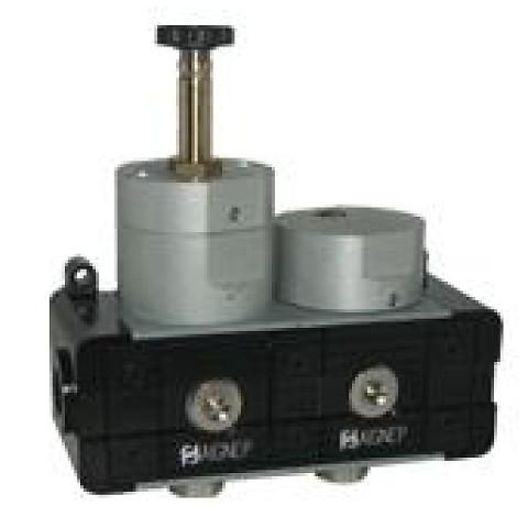 "Soft start valve with quick exhaust 3/8"""