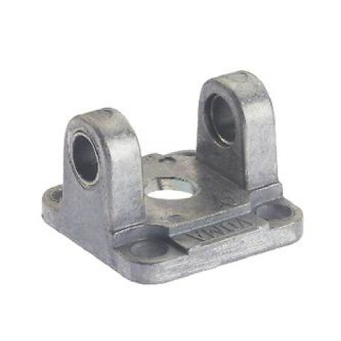 FEMALE HINGE WITH SELF-LUBRICATING BUSHES - ALUMINIUM