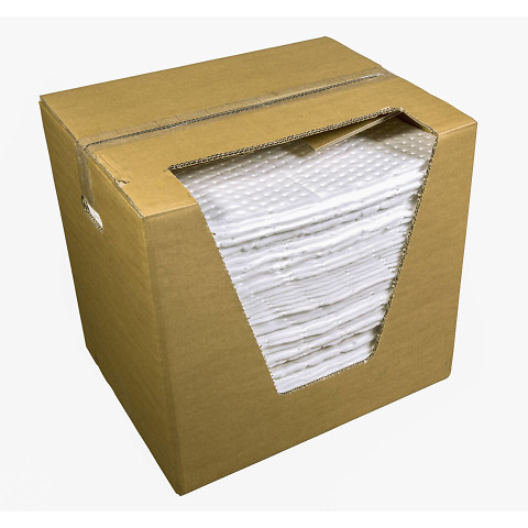 Bewisorb Oil Only H sms, (petrooli baasil vedelikud) leht 40 x 50 cm, kastis 100 lehte (Keskmine: 104L, Max: 114L )